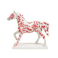 Trail of Painted Ponies Peppermint Twist Pony Figurine 6.88-Inch