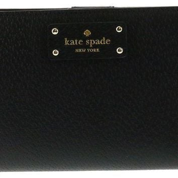 DCK4S2 Kate Spade New York Tellie Grove Street Embossed Leather Wallet