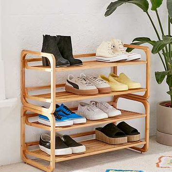 Bamboo Entry Way Organizer   Urban Outfitters