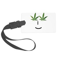 Pot Head Emote Luggage Tag> The Pot Head Emote> 420 Gear Stop