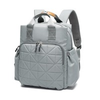 Mia Mom & Dad Diaper Bag Backpack Multi-Function Large Travel Organizer w/Luggage Strap & Change Pad