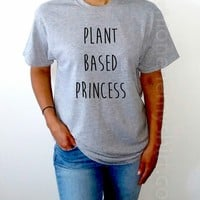 Plant Based Princess - Unisex T-shirt for Women - shpfy