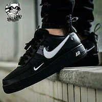 """""""Nike Air Force 1"""" Unisex Sport Casual Samll Star Multicolor Low Help Shoes Sneakers Couple Plate Shoes"""