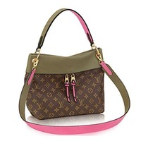 Louis Vuitton Monogram Canvas Tuileries Besace Shoulder Cross Handbag Khaki Article:M43159