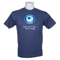 Hockey Night In Canada *Foster Said It Best...Hello Canada* T-Shirt (Harbour Blue)