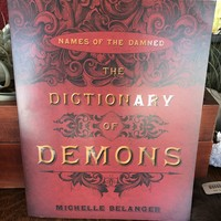 """""""The Dictionary of Demons"""" by Michelle Belanger"""