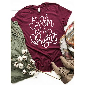 Calm and Bright Tee