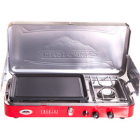 Camp Chef Rainier 2 Burner Stove with Griddle One Color, One