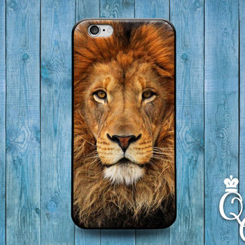 iPhone 4 4s 5 5s 5c 6 6s plus iPod Touch 4th 5th 6th Gen Cute Lion Face Cat African Africa Phone Cover Beautiful Animal Custom Fun Cool Case