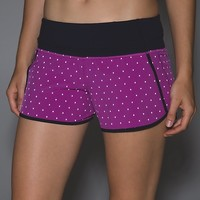 run times short (reflective) *4-way stretch | women's running shorts | lululemon athletica