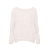 Pink Wash Wool Pullover
