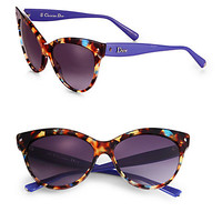 Plastic Cat's-Eye Sunglasses