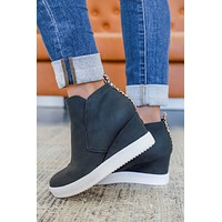Dharma Sneaker Wedges - Black