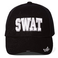 Law Enforcement SWAT Badge Shadow Adjustable Hat