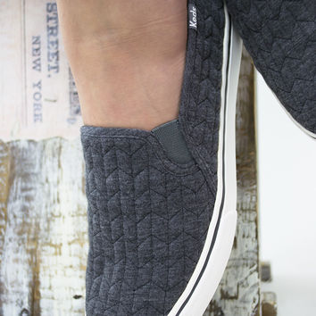 Double Decker Quilted Jersey Keds