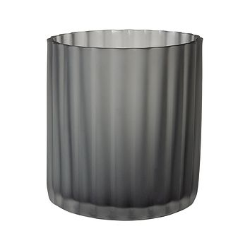 Flannel Frost Fluted Votive - sm
