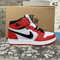 Air Jordan 1/Force 1 Low/High Men's and Women's All-match Sports Shoes