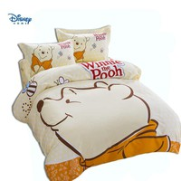 disney winnie the pooh duvet cover 3d comforter bedding set king queen twin full size 100% cotton cartoon linens boy girl decor