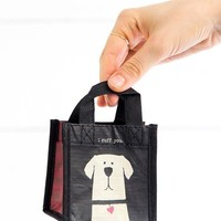 I Ruff You Recycled Gift Bag