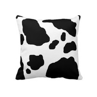 Cow Print Throw Pillows from Zazzle.com