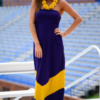 The Interception Maxi, Purple/Gold