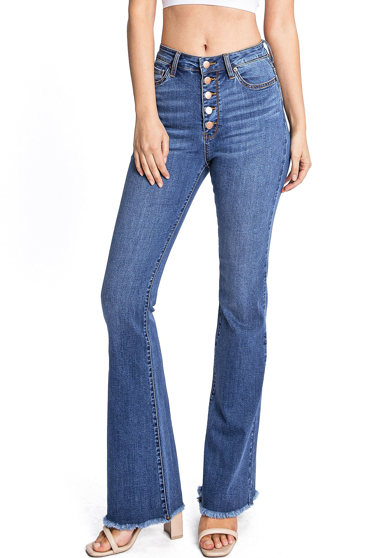 Image of Parker Button Up Flares