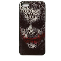 The Dark Knight The Joker iPhone 4/4S/5 Case Plastic Cell Phone Cover