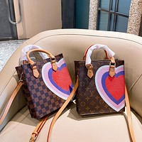 Louis Vuitton LV new printed classic fashion handbag shoulder bag