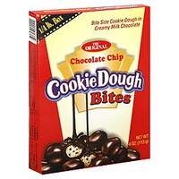 Cookie Dough Cookie Dough Bites, Chocolate Chip, 4 oz (113 g) - Food & Grocery - Gum & Candy - Kids Candy