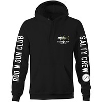 Salty Crew AHI Black Pull Over Hoodie