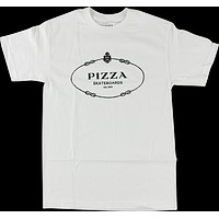 Pizza Couture Tee Large White