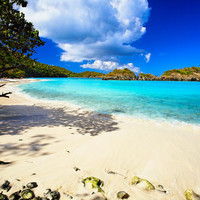 Secluded  Beach Photograph by George Oze - Secluded  Beach Fine Art Prints and Posters for Sale