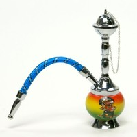 """7"""" Rasta Mini Portable Hookah Pipe, come with all accessaries"""