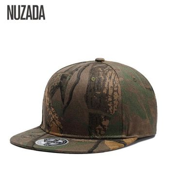 Trendy Winter Jacket Brands NUZADA Cap Snapback Bone  Baseball Caps For Men Women Camouflage Graffiti Hip Hop Technology Cotton Spring Summer Hats AT_92_12