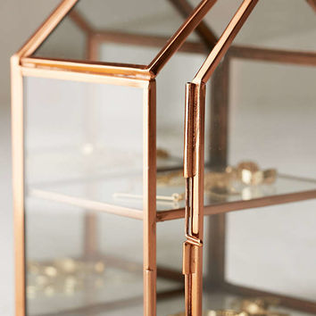 Wall-Mounted Glass House Storage - Urban Outfitters