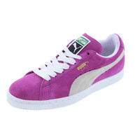 Puma Womens Classic Suede Skate Casual Shoes