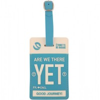Flight 001 – Where Travel Begins.  F1 Are We There Yet Tag - Luggage Tags - All Products