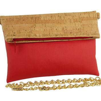 Be Hip Cork Fold-Over Crossbody Bags