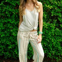 Summer Stroll Relaxed Pant Natural