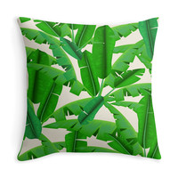 Banana Leaves - Decor Pillow (more colors)