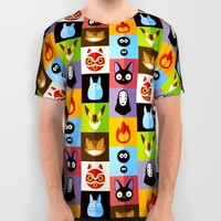 Miyazaki's All Over Print Shirt by BadOdds | Society6