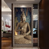 Art Oil Painting Buddha Picture Canvas modern living room No Frame
