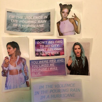 Halsey Sticker Pack