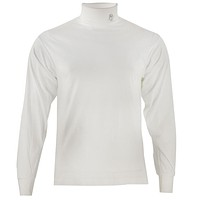Dentist's Smiling Tooth Patch Long Sleeve Turtle Neck T-Shirt