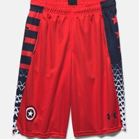Boys' Under Armour® Alter Ego Captain America Shorts | Under Armour US