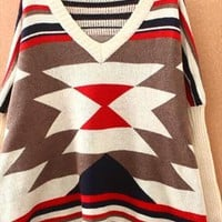 Restoring ancient ways is easing the bat sleeve sweater from Fanewant