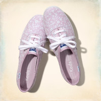 Hollister + Keds Champion Floral Sneakers