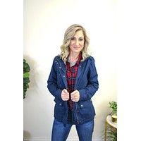 Carlee Cargo Military Jacket