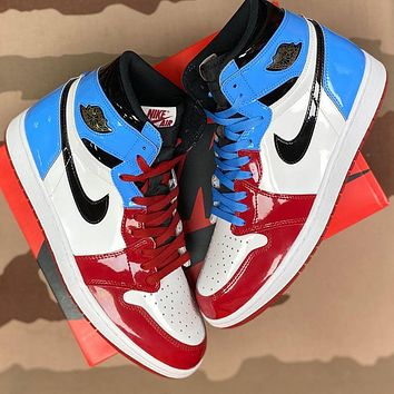Nike Air Jordan 1 Retro High-Top Fearless Basketball Shoes Sneakers Shoes