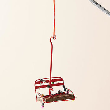 Vintage Ski Lift Ornament